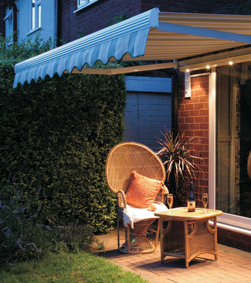 Porch Awnings | Retractable Patio Awnings | Patio Sail Shades