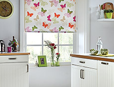 Paplio Spring Roller Kitchen Blinds