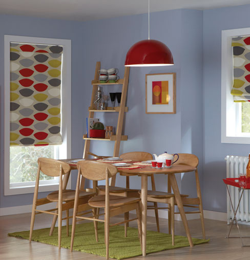 Roman Blind Dining Room