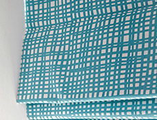 enchant teal ruts cobalt roman blinds