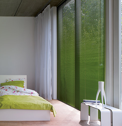 Venetian Blind Bedroom