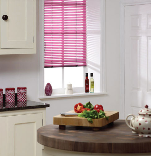 Venetian Blind Kitchen