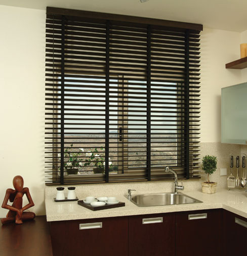 Wooden Blind Kitchen 2