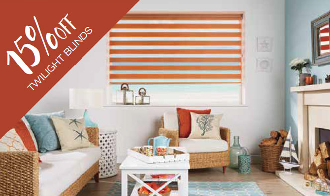 15% off twilight blinds