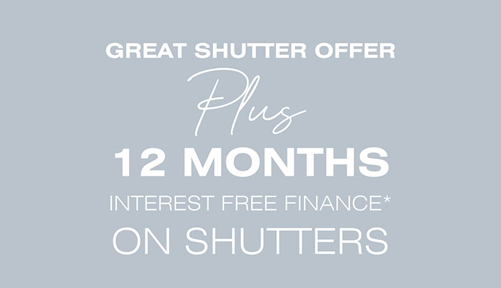 Great shutter offer