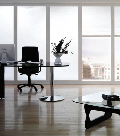 Commercial Blinds White
