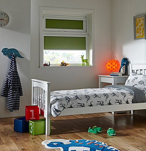 Solare BO Pepper PVC Bedroom Blinds