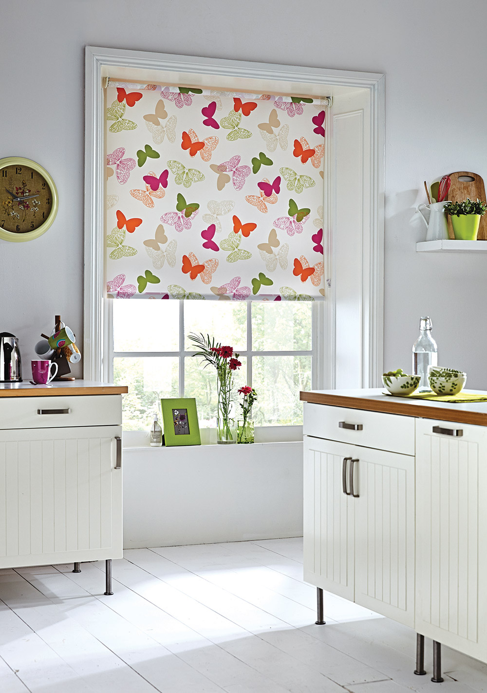 Superieur Paplio Spring Roller Kitchen Blinds