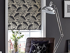 Dandelion Storm Roller Living Blinds
