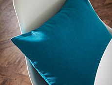 enchant teal juste cobalt cushions