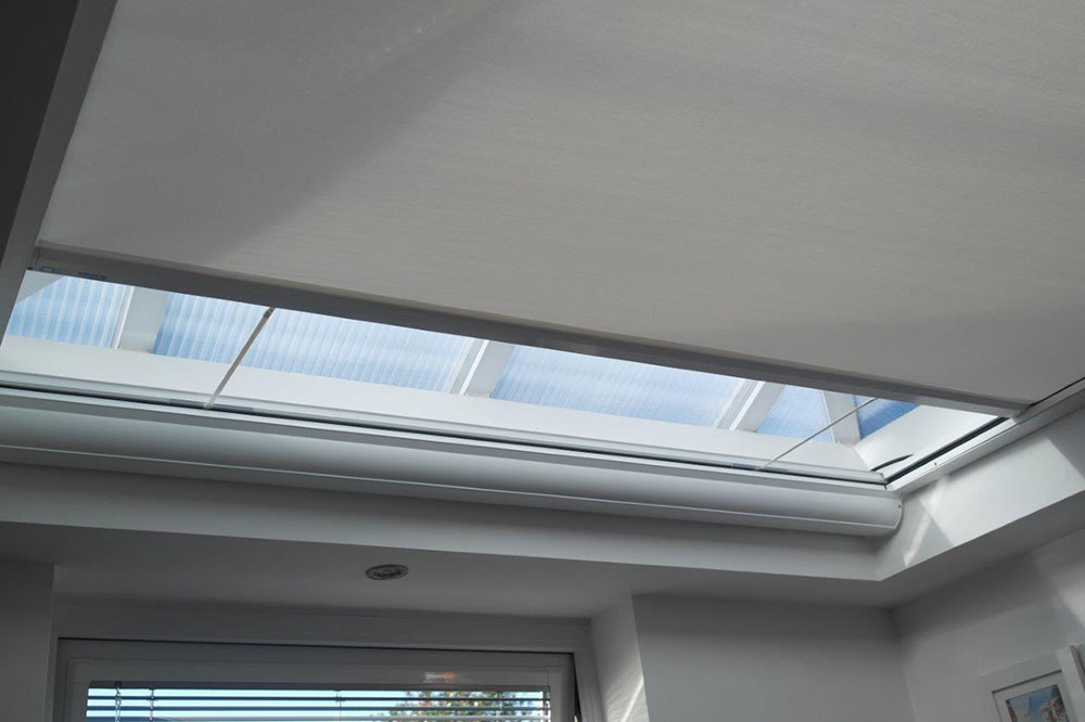 Skylight Blinds Electric Skylight Blinds Apollo Blinds