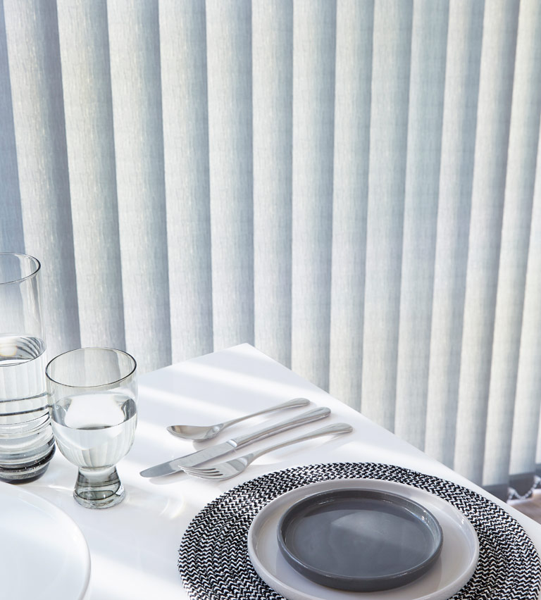 Commercial blinds - sharkskin