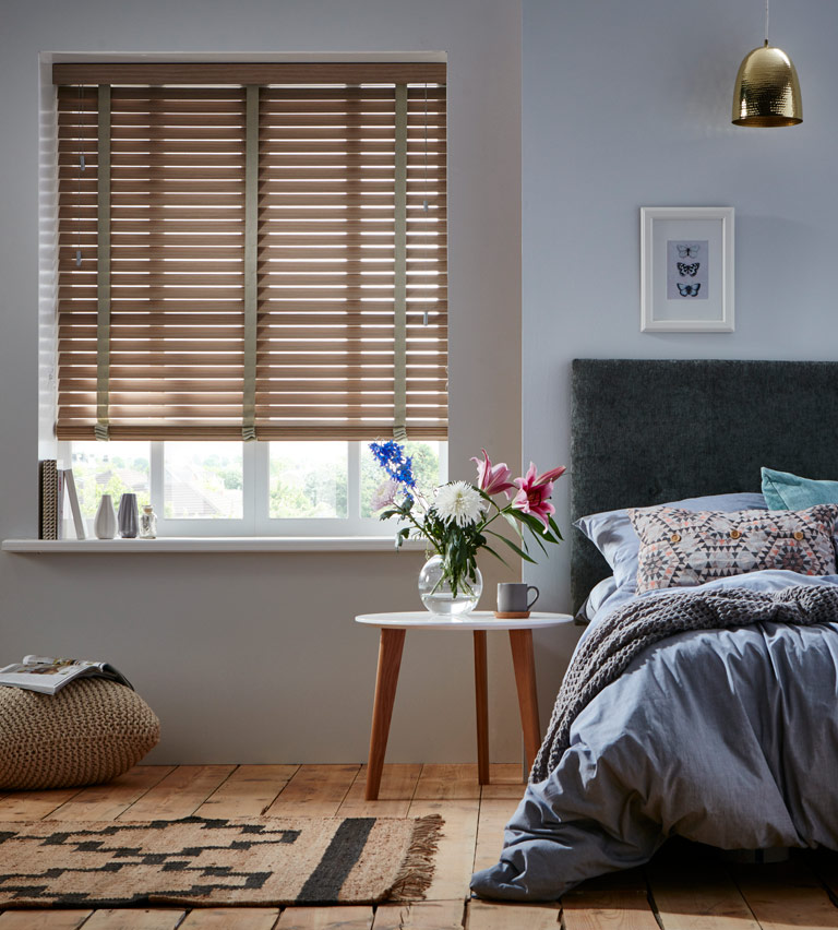 Wooden blinds caroba