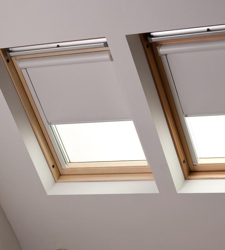 Velux natural blinds