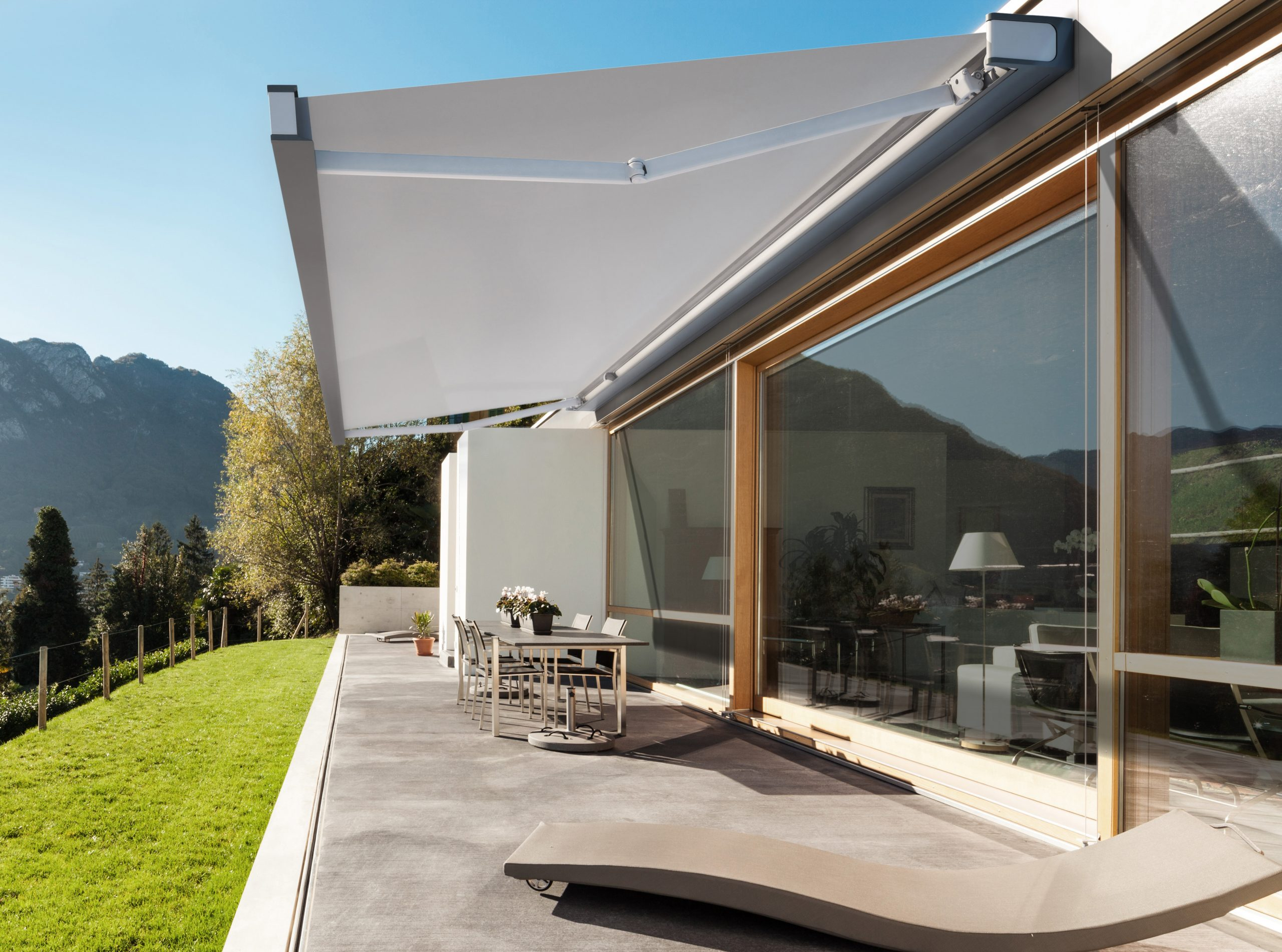 Our new range of awnings and canopies have got you covered this summer