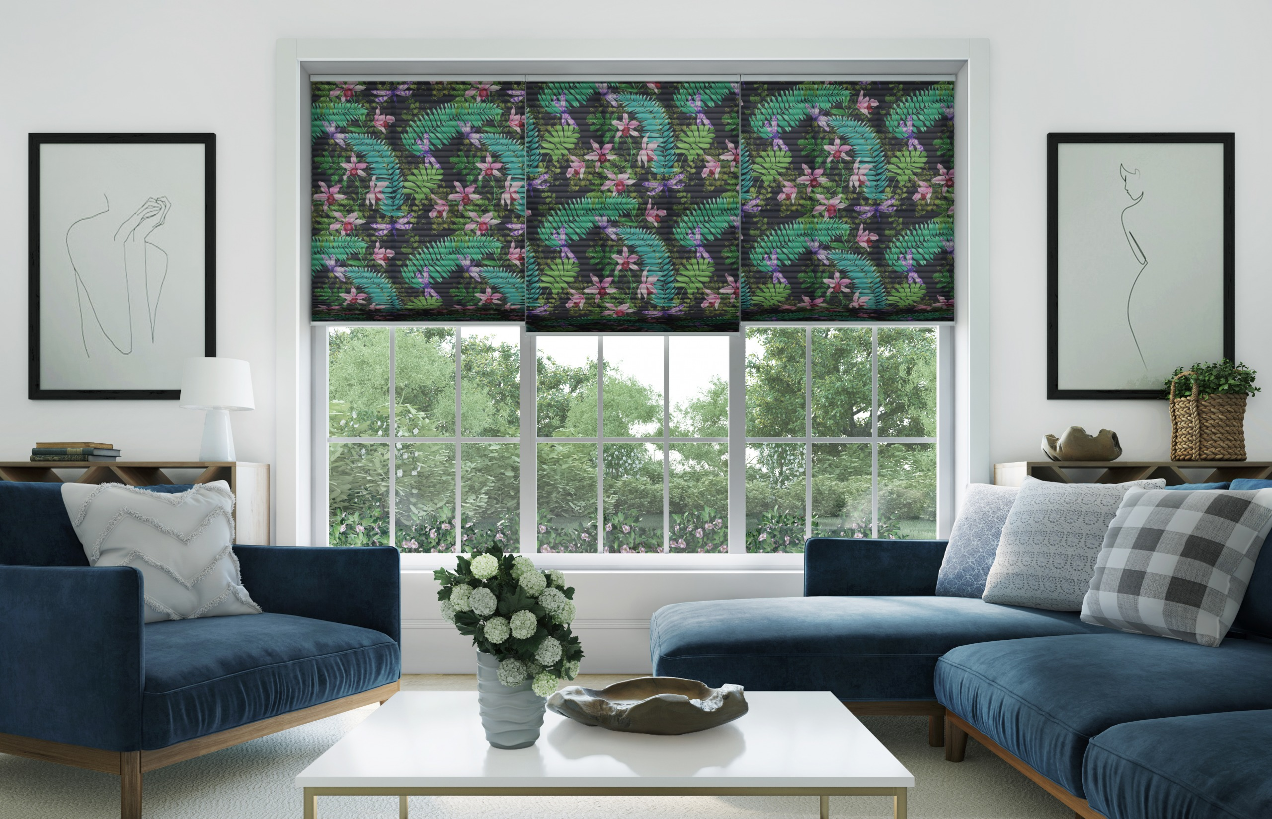 INTRODUCING OUR NEW PLEATED BLIND COLLECTION